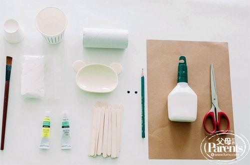 卫生纸筒,纸黏土图片