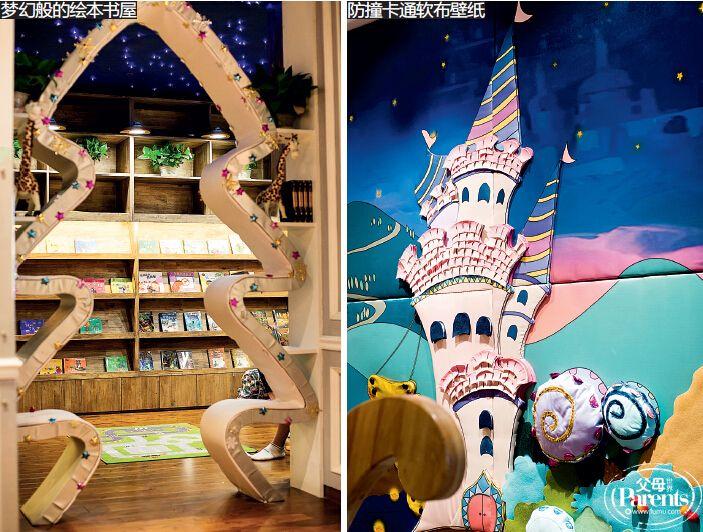 童话故事中的城堡,花朵还有各种小动物也被糕点师